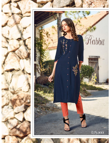 R STUDIO MARIGOLD VOL-1 1001 TO 1008 RAYON SLUB  KURTI  SET TO SET  WHOLESALE CATALOG