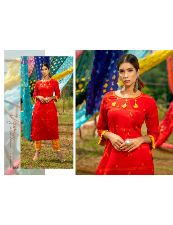 PSYNA POETRY VOL-1 1001 TO 1007 Cotton Weaving PANTS SUIT  SET TO SET WHOLESALE CATALOG