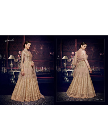 NAKKASHI EXCLUSIVE 11052 TO 11058  GEORGETTE  EMBERODERY  PARTY WEAR  GOWN  SET AND LOOSE   WHOLESALE  CATALOG