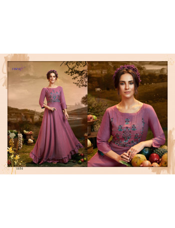 FIONISTA MAUSAMI  1151 TO 1156 FANCY GOWN  SET TO SET WHOLESALE CATALOG