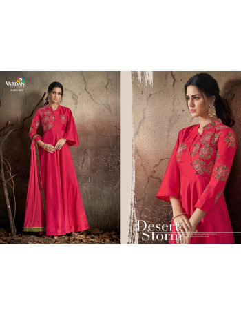 VARDAN NAVYA VOL-14 1401 TO 1408    Soft Tapeta With Embroidery Work  GOWN  SET AND LOOSE AND SINGLE  WHOLESALE  CATALOG