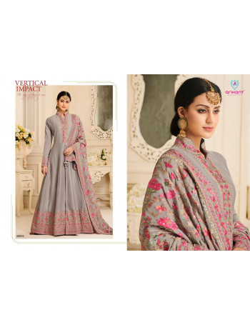 ARIHANT NX AYANA 4001 TO 4004 SATIN SILK WITH FUSING GOWN  CHINNON  WITH WORK DUPATTA  SET AND LOOSE AND SINGLE  WHOLESALE  CATALOG