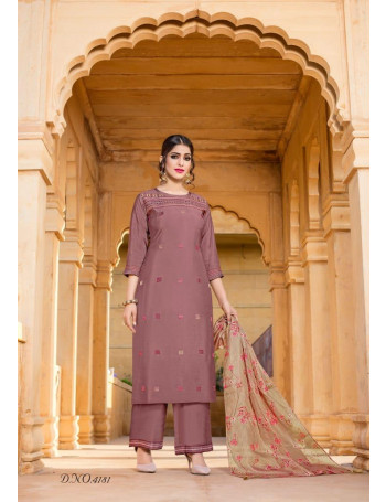 YAMI RUHAANI 4181 TO 4186  Pure Viscos  With Exclusive Multi Work  PANTS SUIT  SET TO SET  WHOLESALE CATALOG