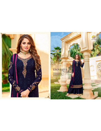 RASHI MAHIRA 441 TO 448  GEORGETTE WITH EMBERODERY & SEQUENCE WORK SALWAR SUIT SET TO SET  WHOLESALE CATALOG