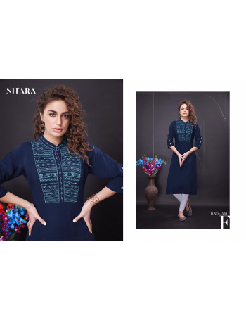 NITARA NOVA 5301 TO 5306 FANCY  SOFT SLUB KURTI  SET TO SET  WHOLESALE CATALOG