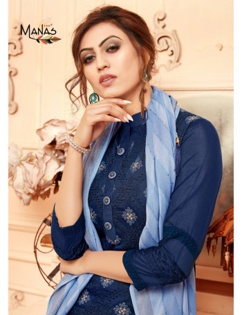 MANAS LUCKNOWI VOL-2 107 TO 112  Fancy Lucknowi Embroidery Work SALWAR SUIT  SET TO SET  WHOLESALE CATALOG