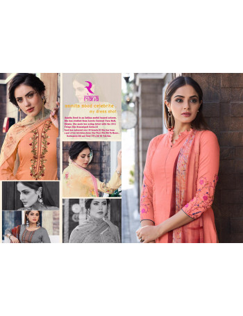 SHIVAM GALAXY 24051 TO 24057  PURE JAM WITH EMBERODERY SALWAR SUIT   SET TO SET WHOLESALE CATALOG