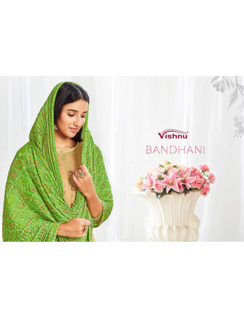 VISHNU BANDHANI 17001 TO 17012 PRINTED SALWAR SUIT  SET TO SET  WHOLESALE CATALOG