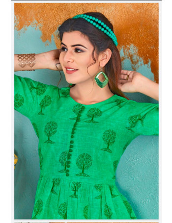 NEHA NURANI 401 TO 405  COTTON SLUB KURTI  SET TO SET  WHOLESALE CATALOG