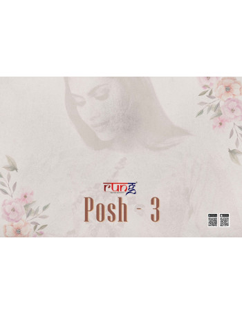 RUNG POSH VOL-3 01 TO 08 ALL DIFFRENT HEAVY KURTI SET TO SET  WHOLESALE CATALOG