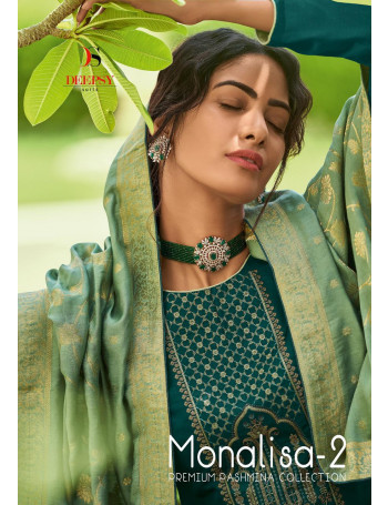 DEEPSY MONALISA VOL-2 81001 TO 81006  Self woven Pasmina with self embroidery SALWAR SUIT  SET TO SET  WHOLESALE CATALOG