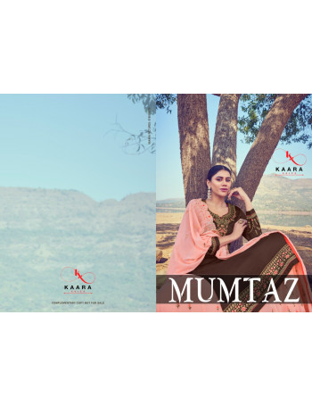 KAARA MUMTAZ 01 TO 04 Satin Georgette with Heavy Embroidery Work & Fancy Daimond SALWAR SUIT  SET TO SET  WHOLESALE CATALOG