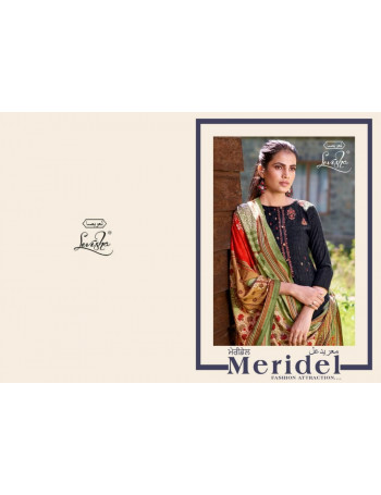 LEVISHA MERIDEL 6313 TO 6320 Pure pashmina negative print with self embroidery SALWAR SUIT  SET TO SET  WHOLESALE CATALOG