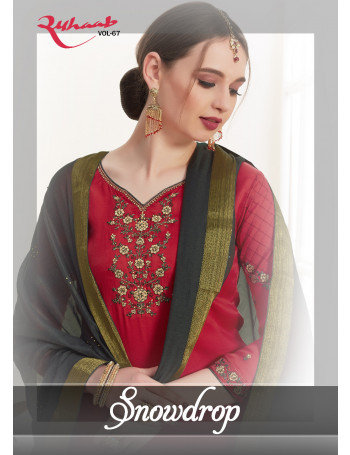 SHIVAM SNOWDROP 2400 TO 2405 Cotton silk heavy embroidery on neck and sleeves SALWAR SUIT  SET TO SET  WHOLESALE CATALOG