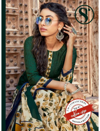 SWEETY NON STOP VOL-43 3001 TO 3012 SOFT COTTON SALWAR SUIT  SET TO SET  WHOLESALE CATALOG